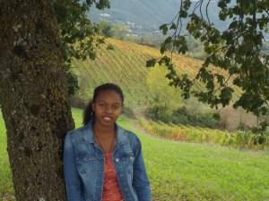 Me at a vineyard